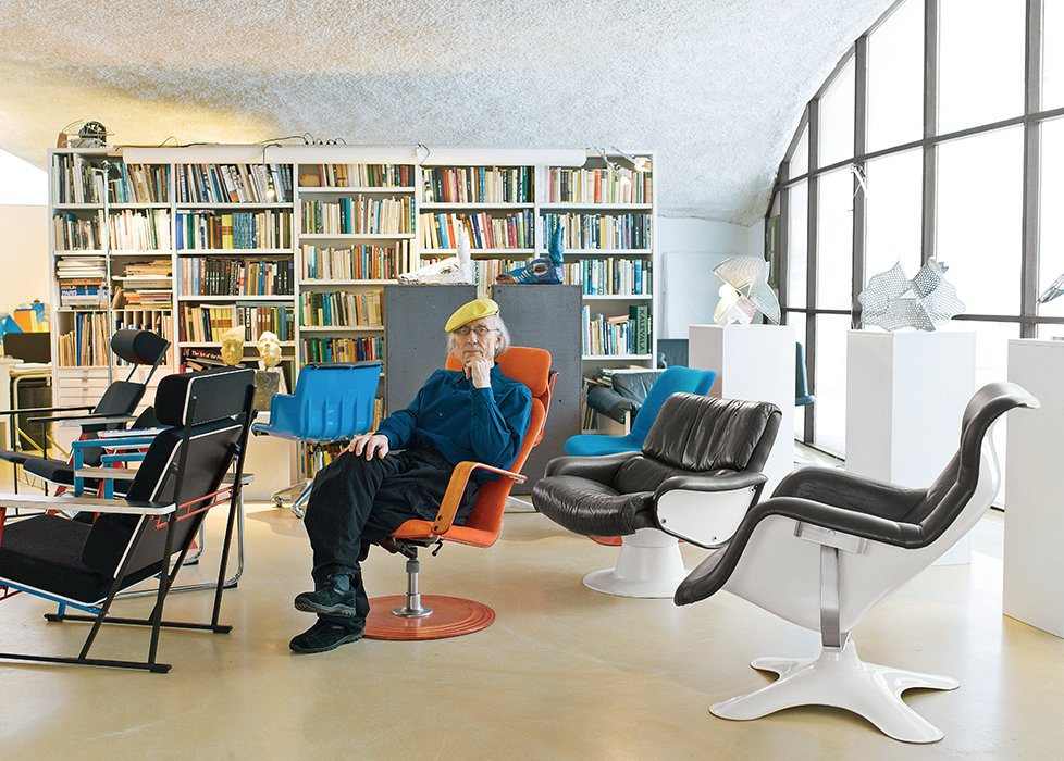 The Modern Studio of a Finnish Design Legend