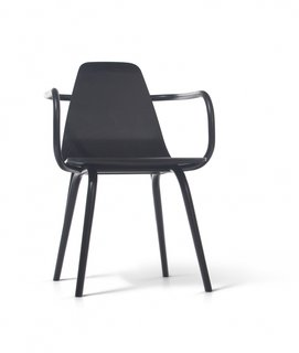 Michael Thonet's bentwood café chair of 1859 is one of the most iconic furniture pieces to emerge from Austria. In 2013, Vienna-based designer Thomas Feichtner reinterpreted the design for Czech company TON, honoring the original production processes while introducing a molded-wood seat as a way to bridge contemporary and traditional furniture design.