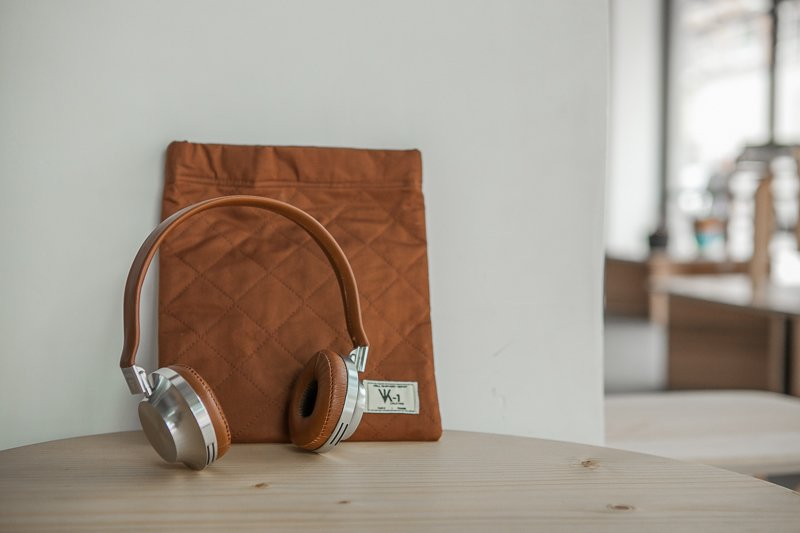 Aëdele VK1 Classic Edition headphones at Austere, Los Angeles.  Photos from Shops We Love: Austere, Los Angeles