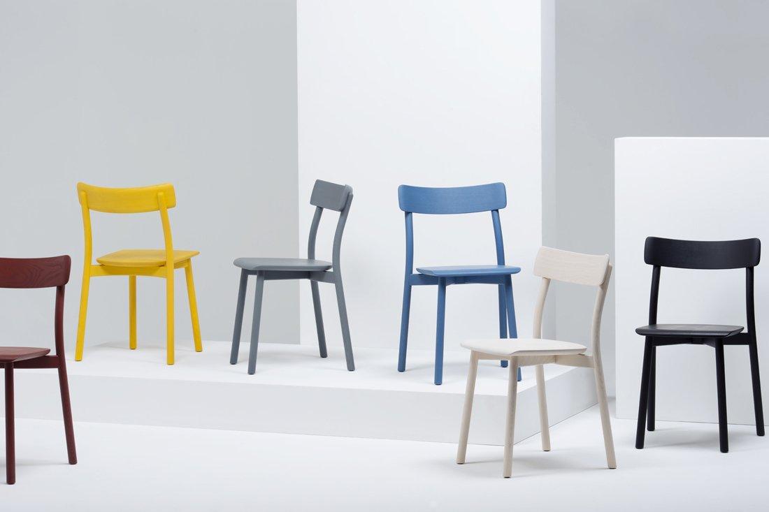 Leon Ransmeier designed the Chiaro chair for Italian furniture company Mattiazzi; the deceptively simple seat launched at the 2014 Salone Internazionale del Mobile.  Photo 1 of 5 in Chiaro Chair by Leon Ransmeier for Mattiazzi