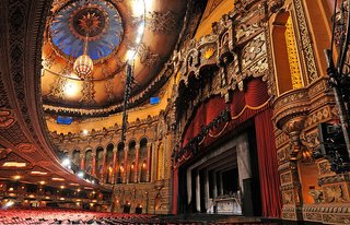Olympia Stadium, a former home of the Detroit Red Wings hockey team, has also hosted everything from Presidential speeches to boxing matches to circus spectacles. The building was instrumental in turning Detroit into an entertainment destination. Photo courtesy jaxonfilmfest.wordpress.com.