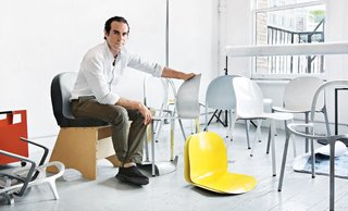 Since graduating from Pratt Institute in 2004, Los Angeles–based designer and researcher Jonathan Olivares has undertaken numerous projects. He's designed furniture for the likes of Danese, Driade, and Knoll, the latter for whom he created the Olivares Aluminum Chair, a space-saving stacking chair in colorful matte finishes. Olivares will join us onstage to discuss merging business with design.