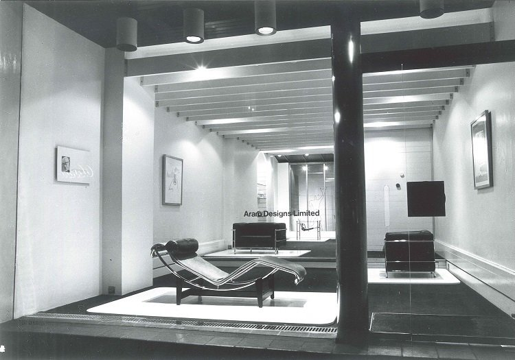 Aram Design Limited Showroom in 1964  The original site of Zeev Aram's influential design store, then located on Kings Road.  Photo 1 of 8 in ARAM at 50: Golden Anniversary for a London Design Icon