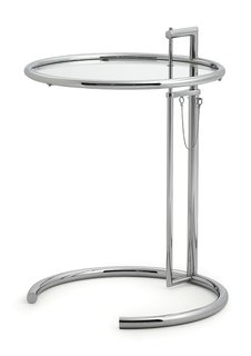 The E 1027 Adjustable Table: one of many Eileen Gray pieces that are manufactured by Aram Designs Limited.