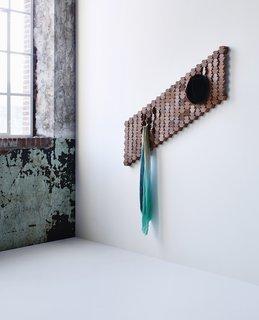 A Dutch Designer's Tessellating Coat Rack