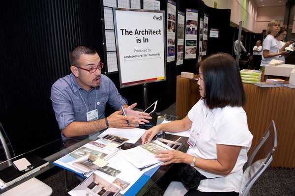Some of the brightest working architects in Southern California will be available to offer advice and encouragement, courtesy of Architecture for Humanity.  Photo by Mimi Teller Rosicky