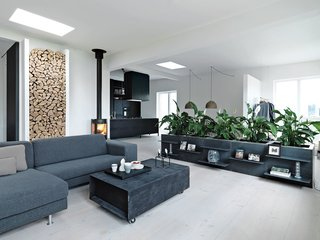 The Scandinavian pavilion will be decked out with furniture and accessories that embody Hygge—a Danish term implying warmth, coziness, and friendliness. This renovated loft in Copenhagen by Vipp Chief Designer online Morten Bo Jensen and his wife, Kristina May Olsen highlights that concept.  Photo by Anders Hviid.