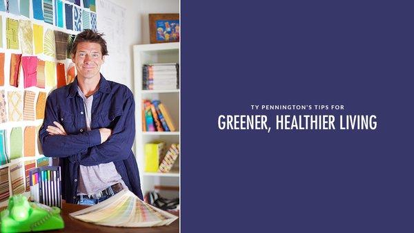 Ty Pennington's Tips for Healthier Living