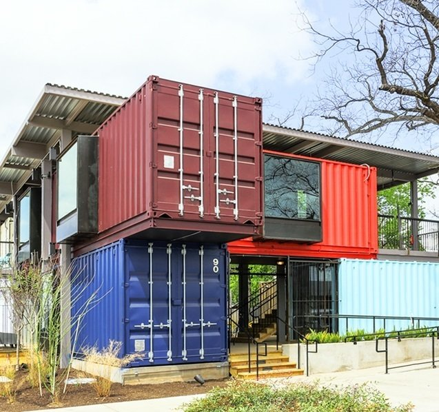 Examples of Shipping Container Architecture