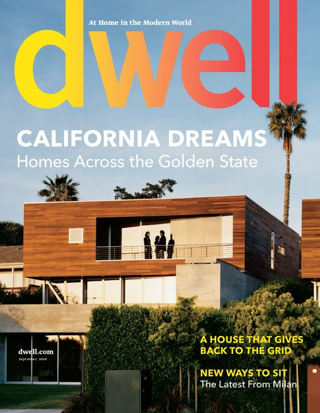 California Dreams from 2008 pays homage to our home state, and kicks off with an amazing cover story on twin homes in La Jolla by architect Sebastian Mariscal. Photo by: Bryce Duffy