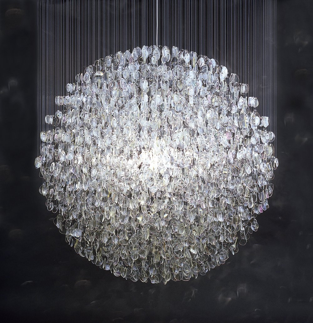 The lens-crafted Optical chandelier.  Photo 1 of 13 in Design Junkie