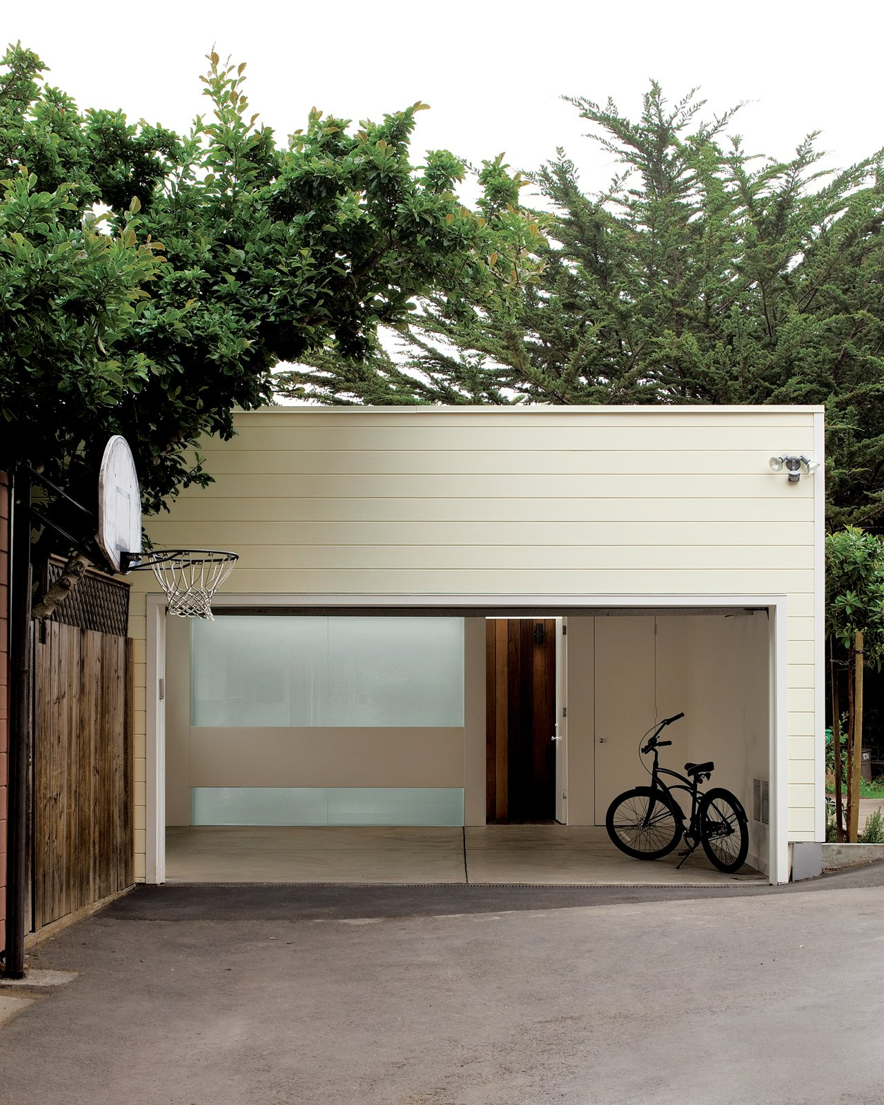 Garage and Detached Garage Room Type Architect Cary Bernstein transformed a dated garage into a modern playroom for clients in San Francisco.  Photo 1 of 4 in A Garage Converted Modern Playroom