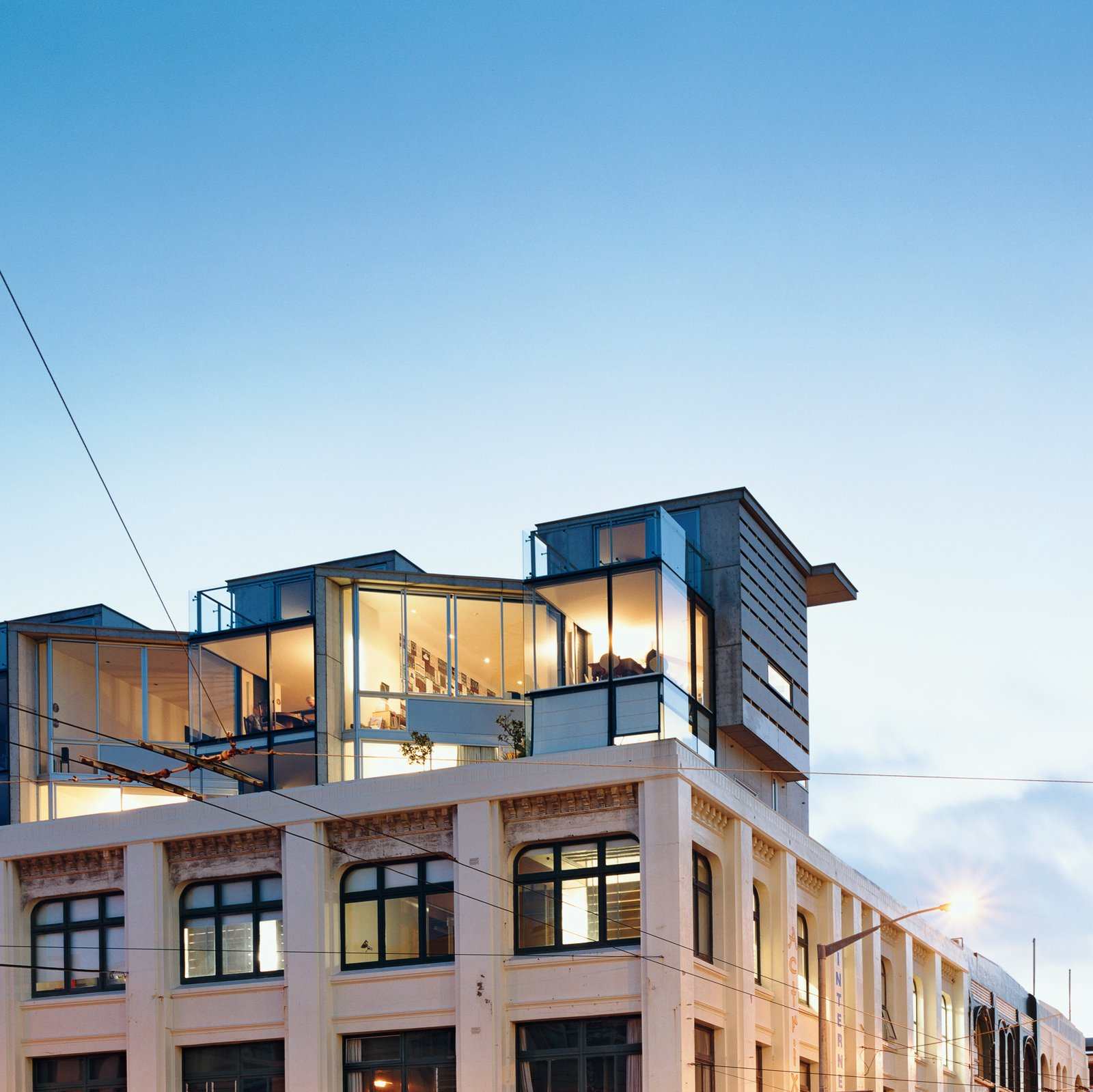 Jan and Luit Bieringa sold their suburban house and took over a 3,000-square-foot space on the third floor of an Edwardian warehouse in Wellington, New Zealand.  Photo 6 of 10 in Rising Above It All