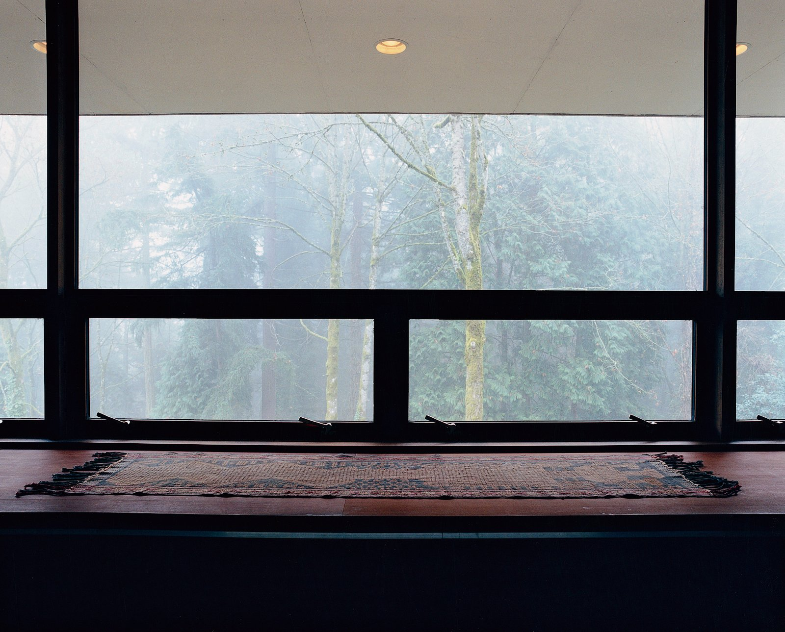"""The architect refers to the huge window opposite the bed as their """"flat-screen television.""""  Photo 5 of 9 in Cooler Ranch"""
