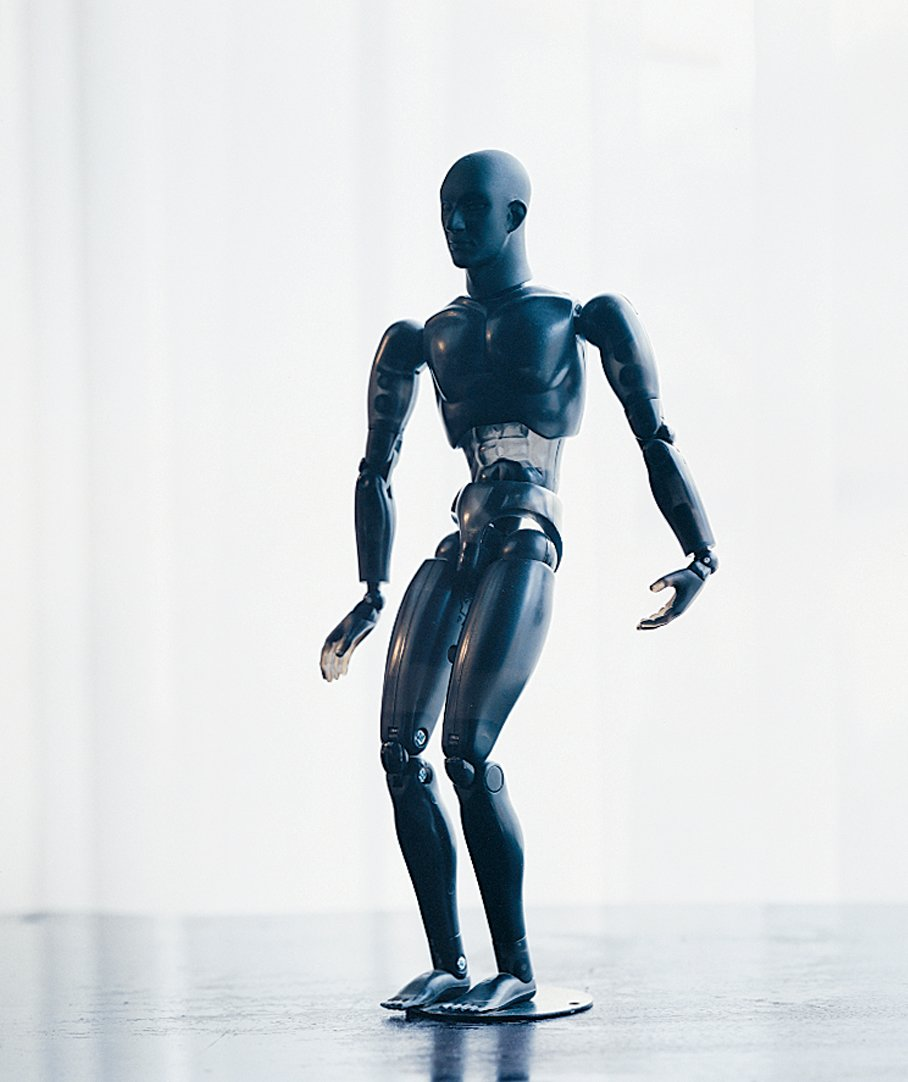 """A poseable artist's model Wanders purchased when he was working on his """"breathing"""" mannequins for the Mandarina Duck flagship store in London.  Photo 5 of 11 in Marcel Wanders"""