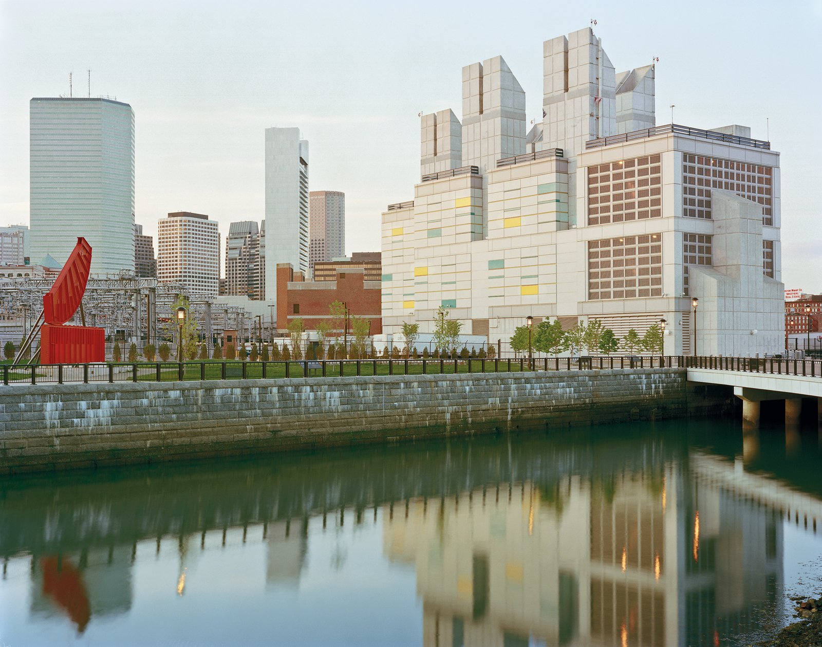 Artists and others who live and work along the Fort Point Channel were less than pleased about the massive Vent Building 5, one of five structures that deliver power and fresh air to the Big Dig's underground highways.  Photo 2 of 12 in Boston Pops