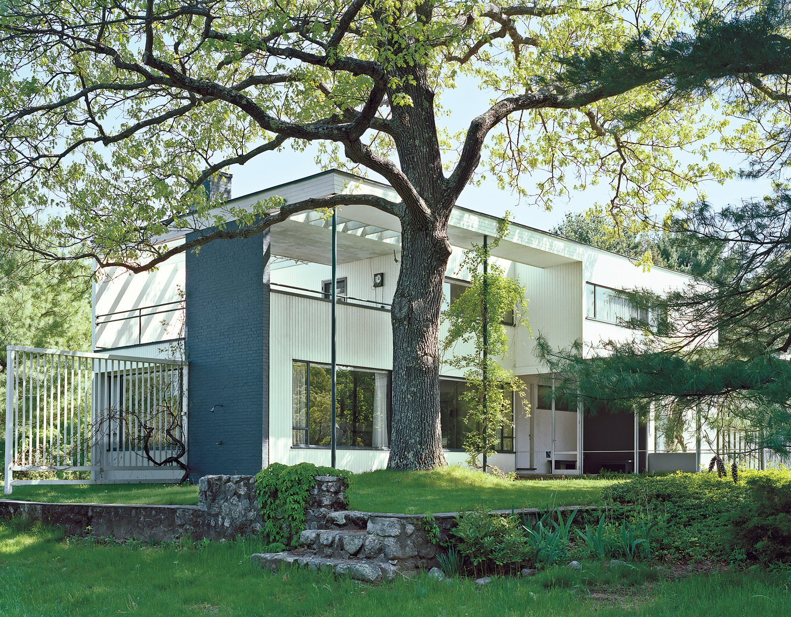 Bauhaus founder Walter Gropius lived in the house that bears his name from 1938 until his death in 1969.  Photo 9 of 12 in Boston Pops