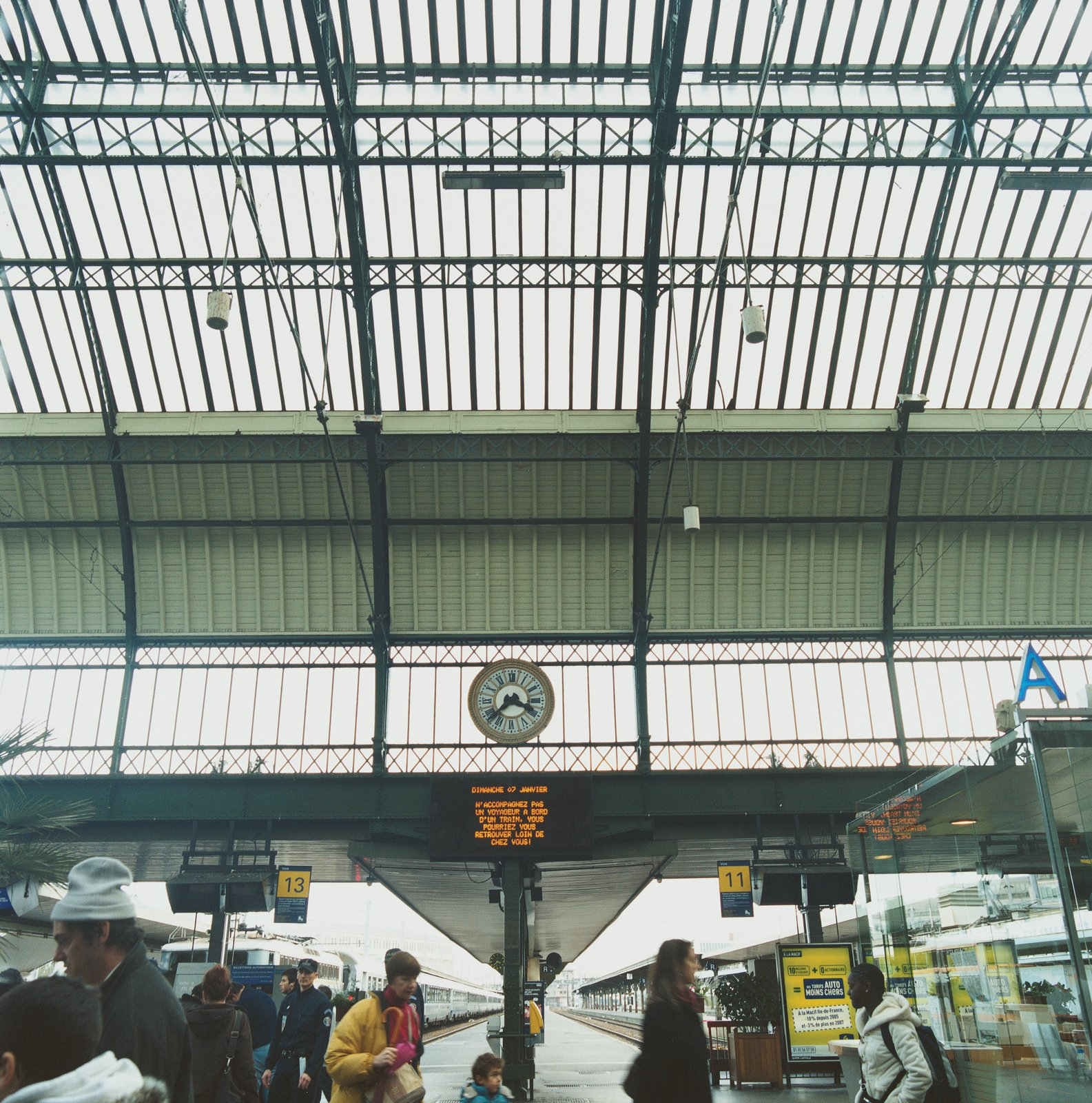 """Erwan advises that Paris's finest architecture can be found in its train stations—such as the Gare de Lyon pictured here. """"I love all those 19th-century buildings created by engineers who worked in metal,"""" he adds.  Photo 5 of 9 in Parsing Paris"""