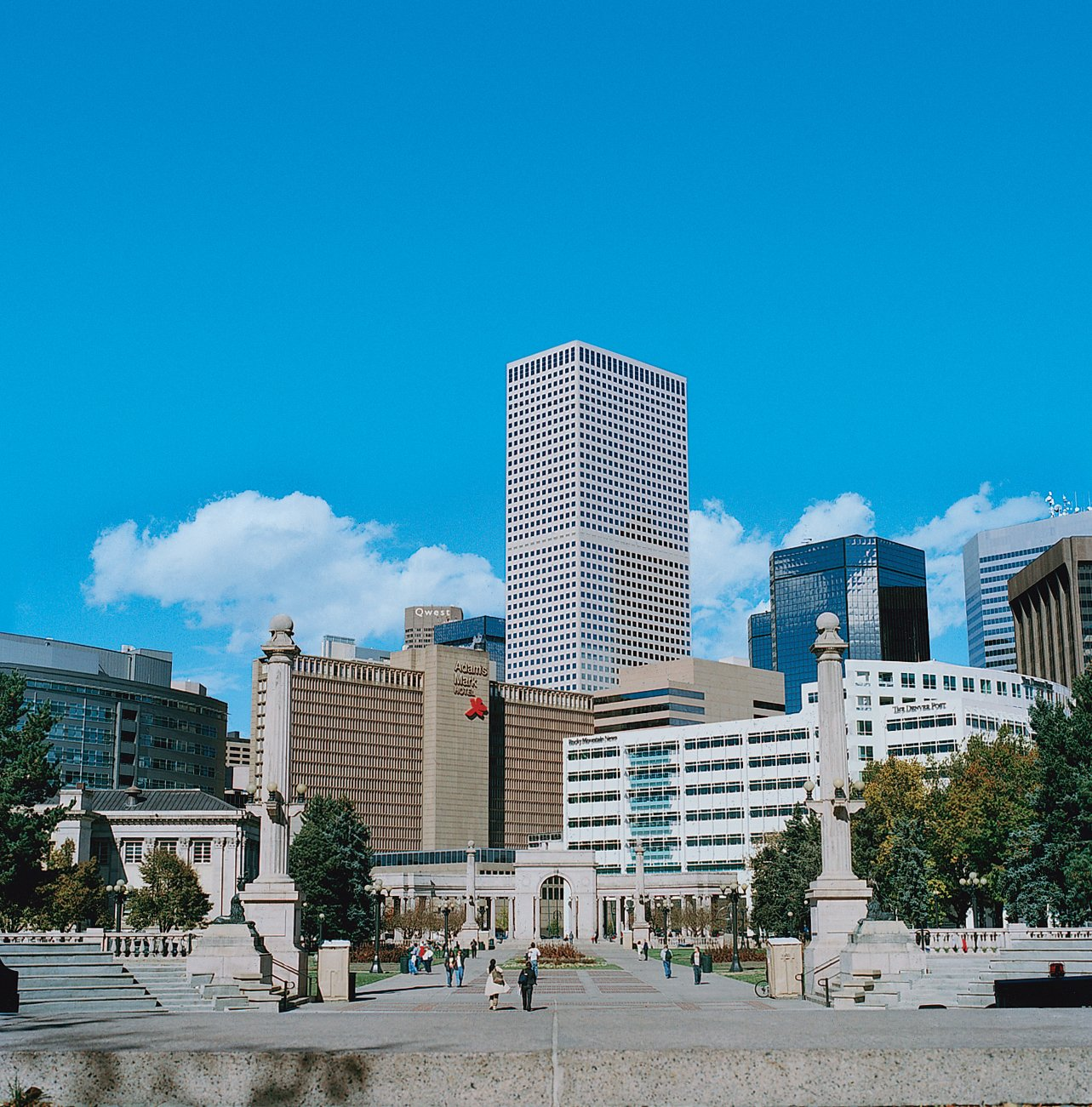 Denver's ever-changing skyline showcases an eclectic mix of architectural styles.  Photo 6 of 11 in High Design in Denver