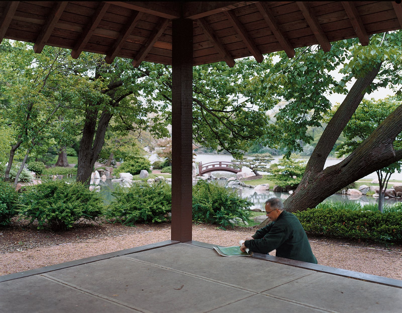 The Osaka Garden in Jackson Park provides a respite from the city.  Photo 3 of 8 in The Real Chicago