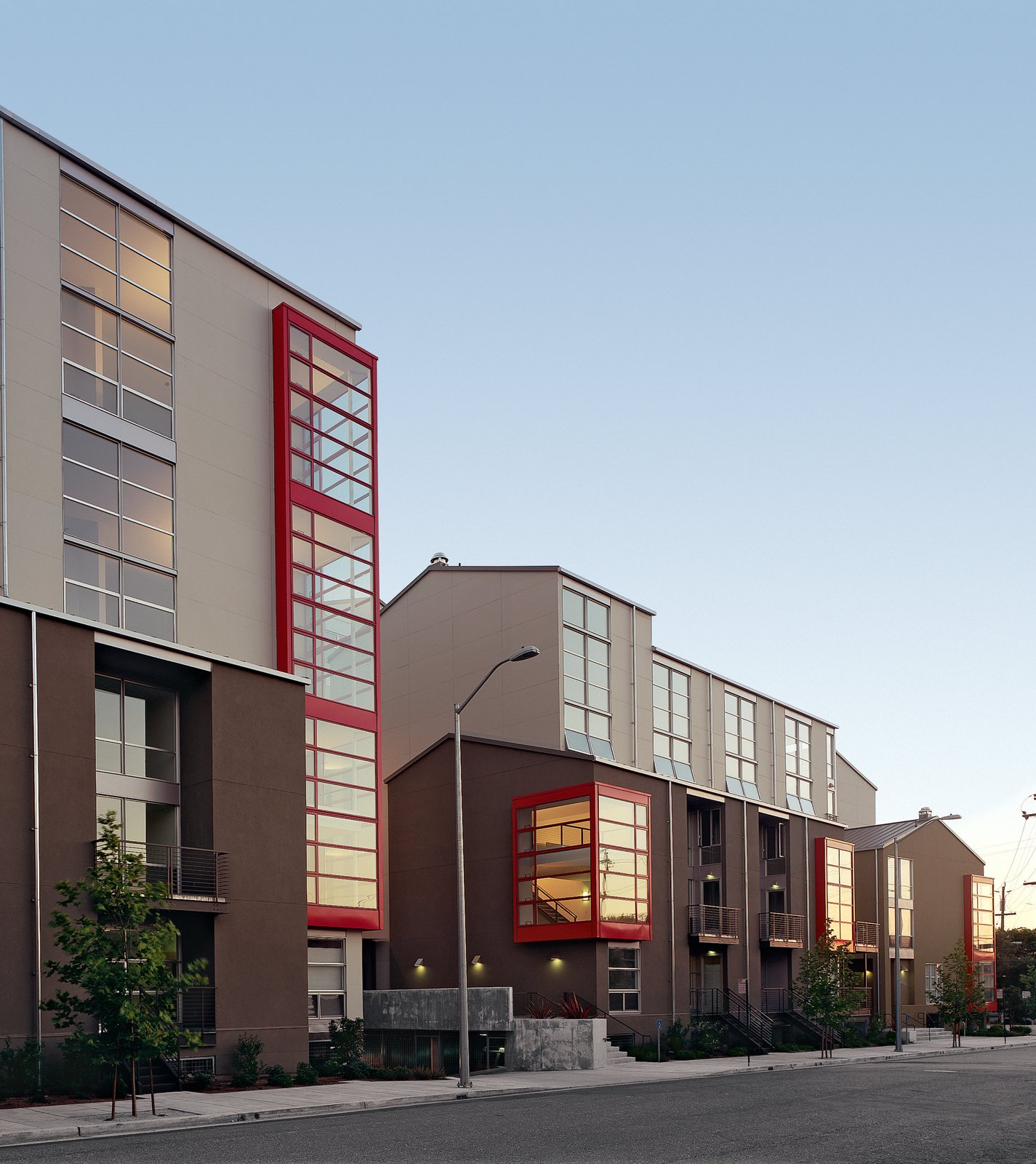 GreenCity Lofts exceeds California Title 24 energy requirements by 15 percent.  Photo 1 of 4 in A Green Approach
