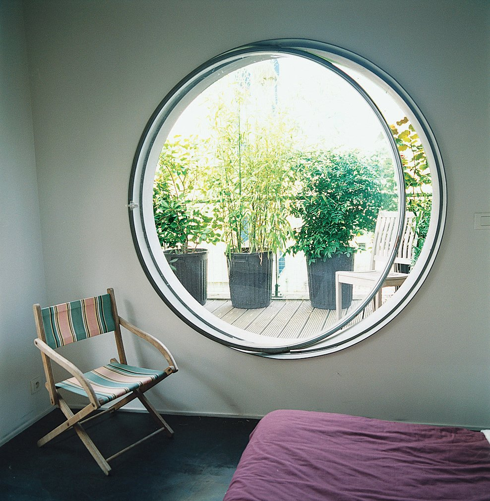 The family was eager to bring nature into every room of their city home.  Photo 3 of 7 in Garden Apartment