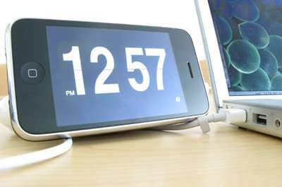 Flip Clock application for the iPhone, $0.99  Photo 2 of 10 in 10 Modern Gifts Under $20