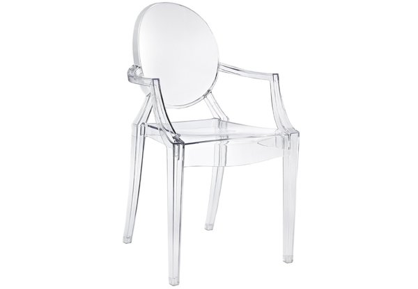 Louis Ghost Chair by Philippe Starck from Kartell