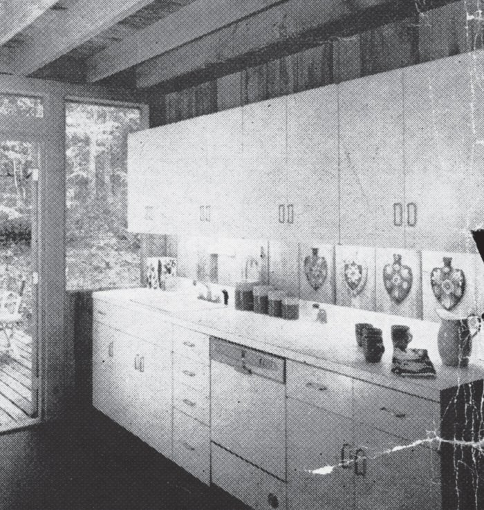 The kitchen before renovation.  Photo 5 of 17 in Long Island Summer Home Gets a Modern Addition