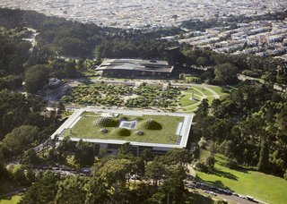 California Academy of Sciences by Renzo Piano Workshop in collaboration with Stantec Architecture and Arup  Merit Award winner for Excellence in Architecture