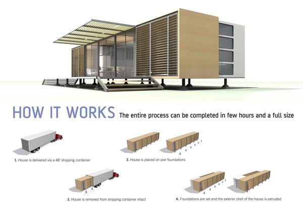 NEST House by Naylor & Chu Architects  Honor Award for Unbuilt Design