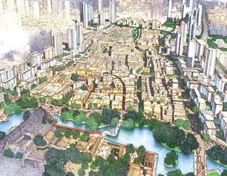 Foshan Donghuali Master Plan by Skidmore, Owings & Merrill  Honor Award for Urban Design