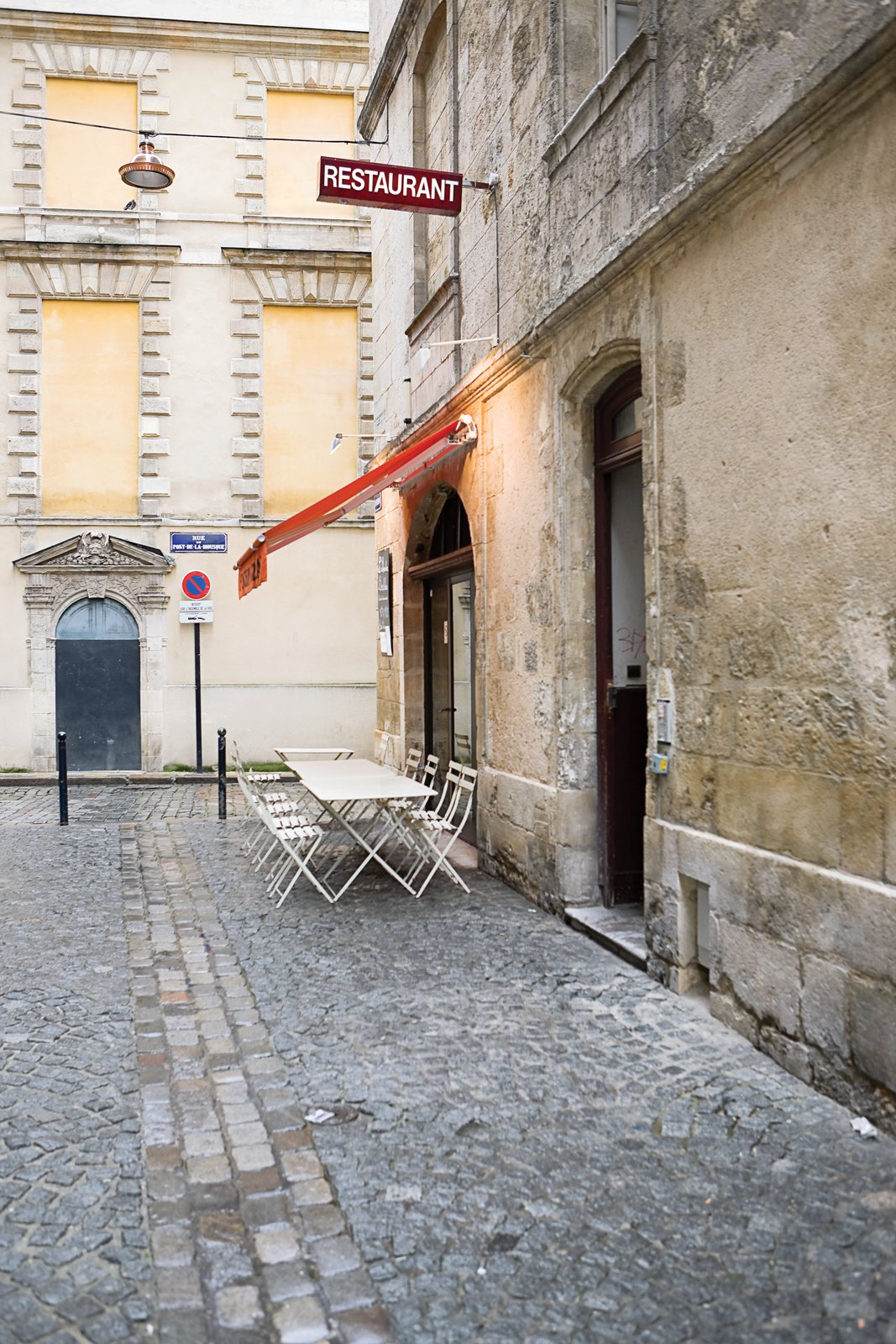 """Brochet recommends the restaurant Le Bouchon Bordelais or both the cuisine and its view of """"the oldest prostitutes in Bordeaux.""""  Photo 9 of 9 in Bordeaux, France"""