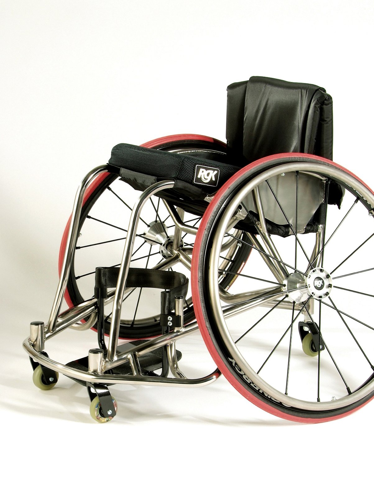 The Interceptor Wheelchair by RGK is made for use in rugby, basketball and other high contact sports.  Photo 3 of 4 in Eight Questions for Graham Pullin