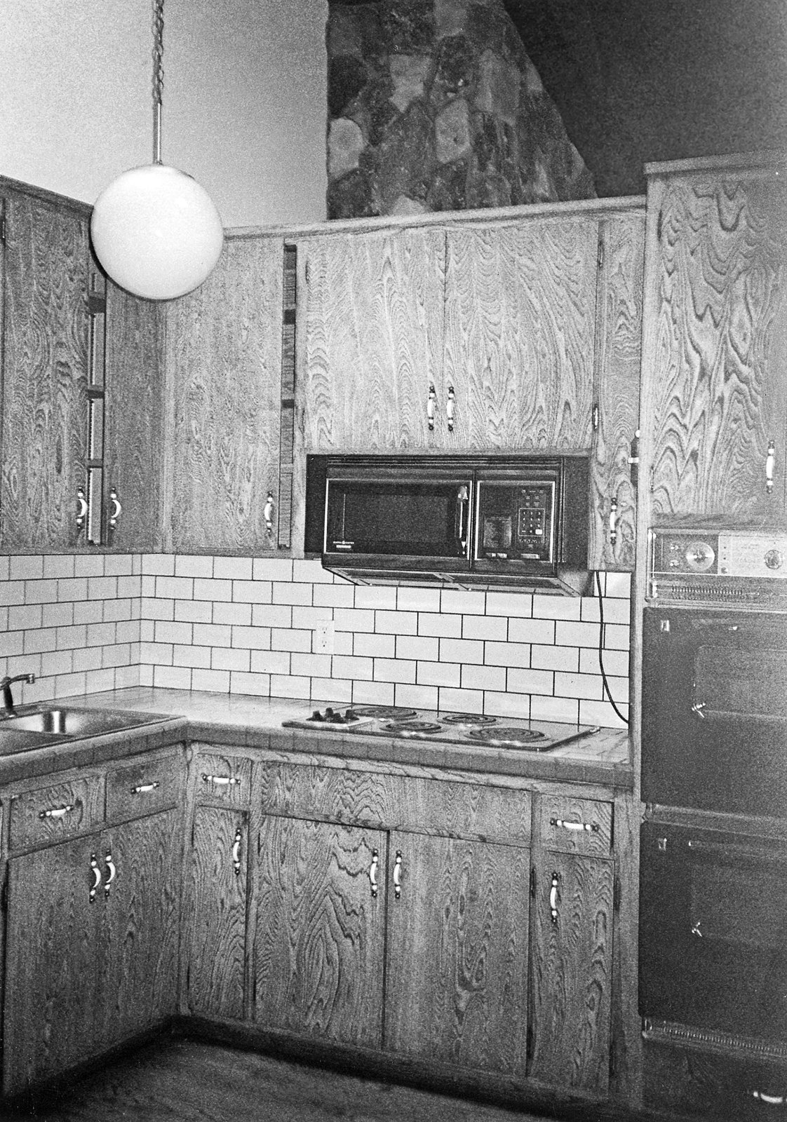 The kitchen that De Matran started with was cramped and completely outdated.  Photo 2 of 2 in Model Worthy
