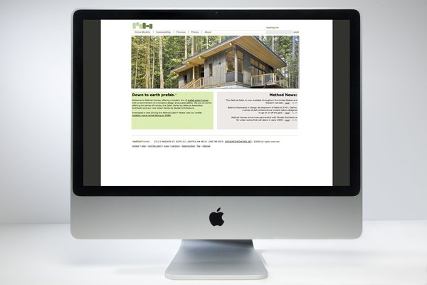 Method Homes website design by Autograph