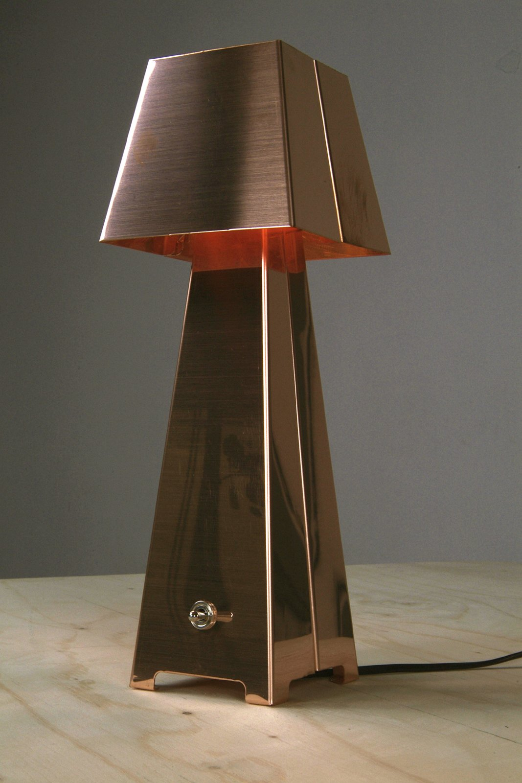 """The Copper Table Lamp  Search """"f k a table lamp"""" from Piet Hein Eek"""