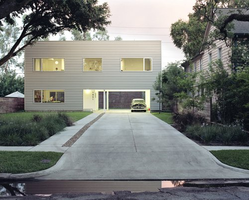 48' House by Interloop Architecture (Dawn Finley and Mark Wamble). Photo by Daniel Hennessey  Photo 1 of 4 in Hometta: Affordable Modern Home Plans