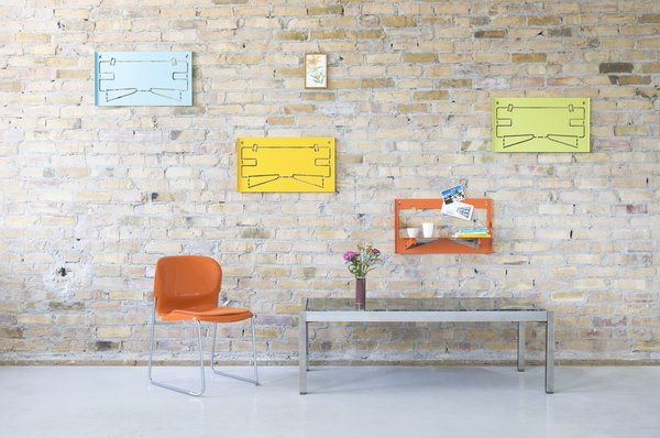 Piegato One shelves by Matthias Ries for MRDO products  Storage by Dwell from Piegato Shelves