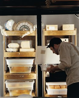 The cheese cave at Di Bruno Brothers delivers dairy delicacies.