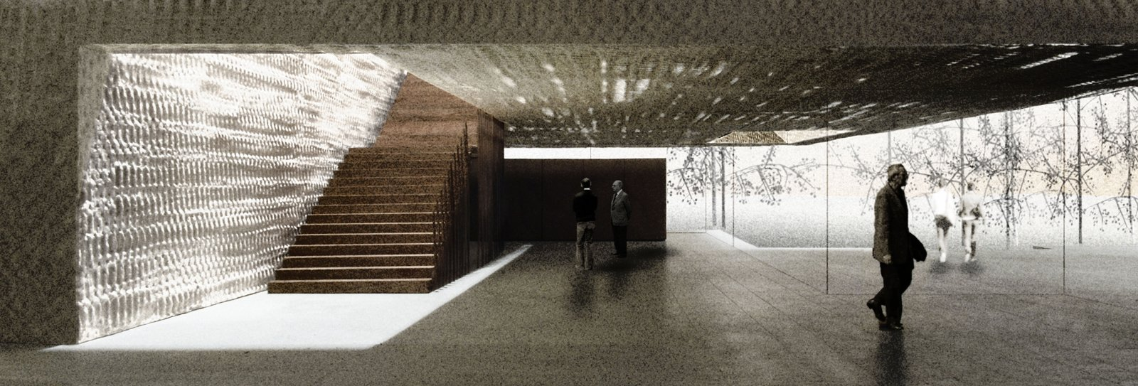 """Cloepfil said that his idea for the Clyfford Still Museum in Denver is """"that you're always going further and further in,"""" as this stairwell will attest.  Photo 2 of 3 in Eight Questions for Brad Cloepfil"""