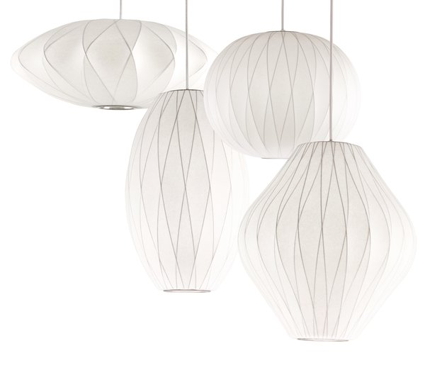 George Nelson Criss Cross Bubble Lamps Dwell