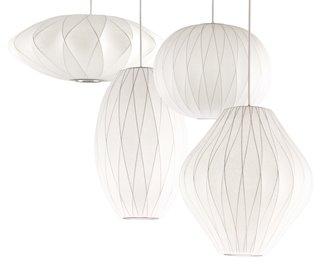 George Nelson Criss Cross Bubble Lamps