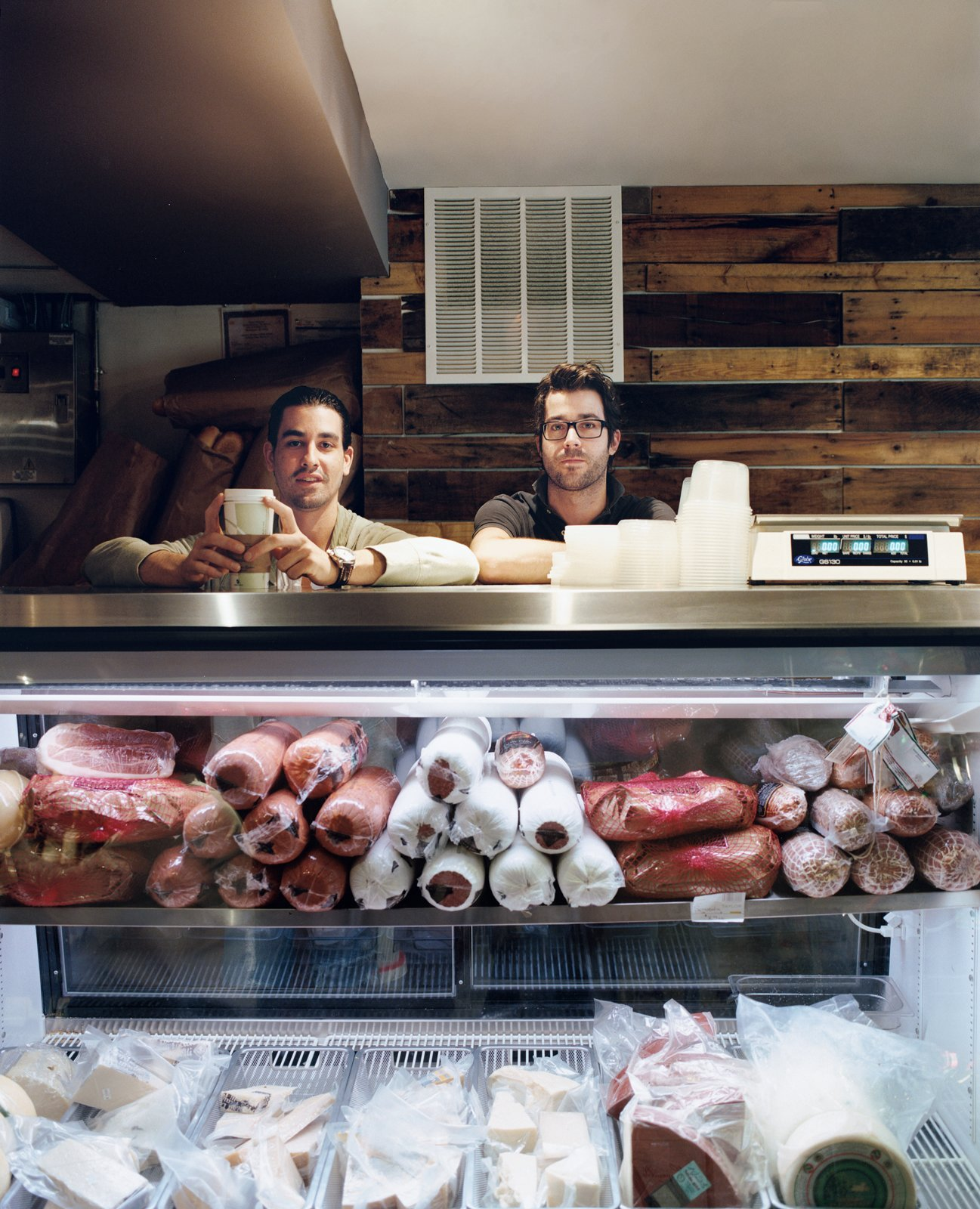 Casey Patten and David Mazza are most frequently found behind the counter of their Washington, DC, deli, Taylor Gourmet. When the friends and business partners aren't slaving over chicken cutlets or slicing prosciutto, they take in the urban views from their respective apartments above the restaurant.  Photo 2 of 13 in Hoagies' Heroes