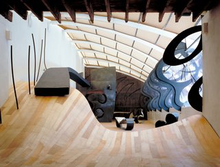 Chalk Farm Road Studio (1981-91)  Photo courtesy of   Ron Arad Associates and the Museum of Modern Art
