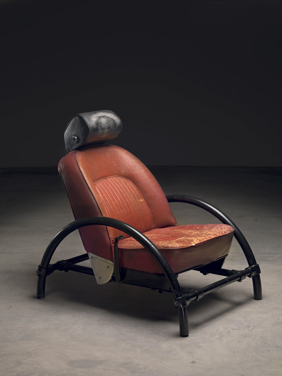 Rover Chair (1981)  Photo by Erik and Petra Hesmerg and courtesy of Private Collection, Maastricht, and the   Museum of Modern Art  Photo 1 of 28 in Ron Arad: No Discipline Preview