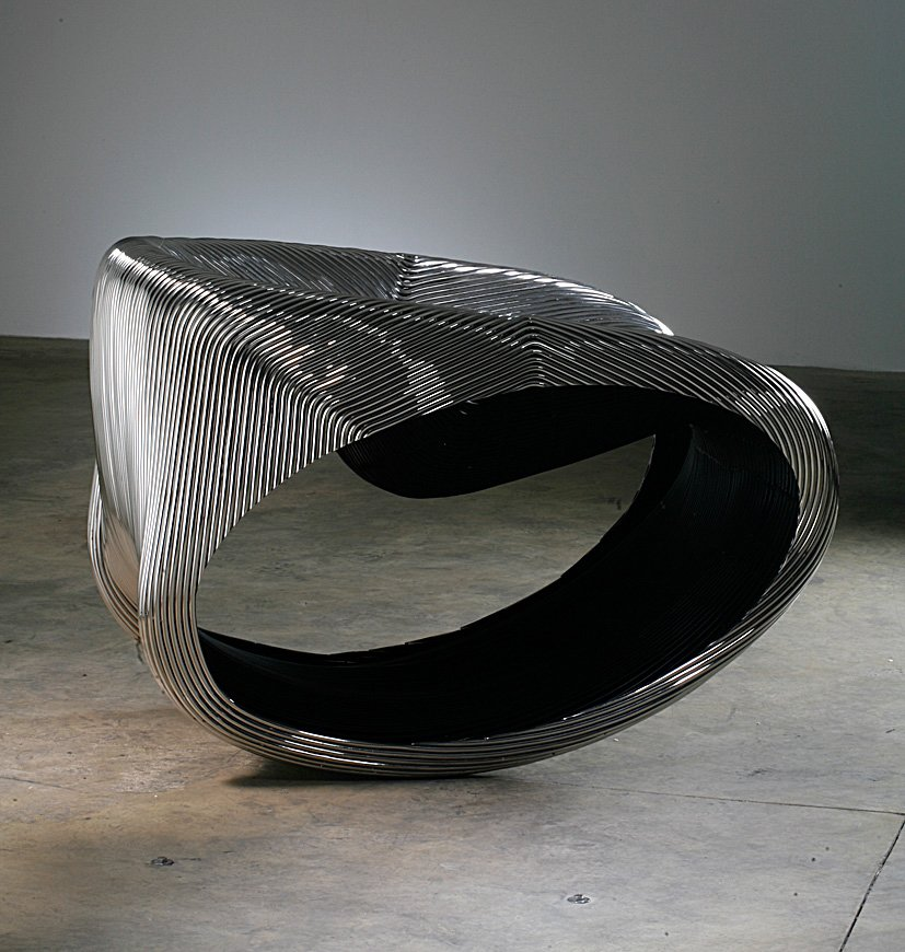 MT Rocker Chair (2005)  Photo by Erik and Petra Hesmerg and courtesy of Private Collection, Maastricht, and the   Museum of Modern Art  Photo 20 of 28 in Ron Arad: No Discipline Preview