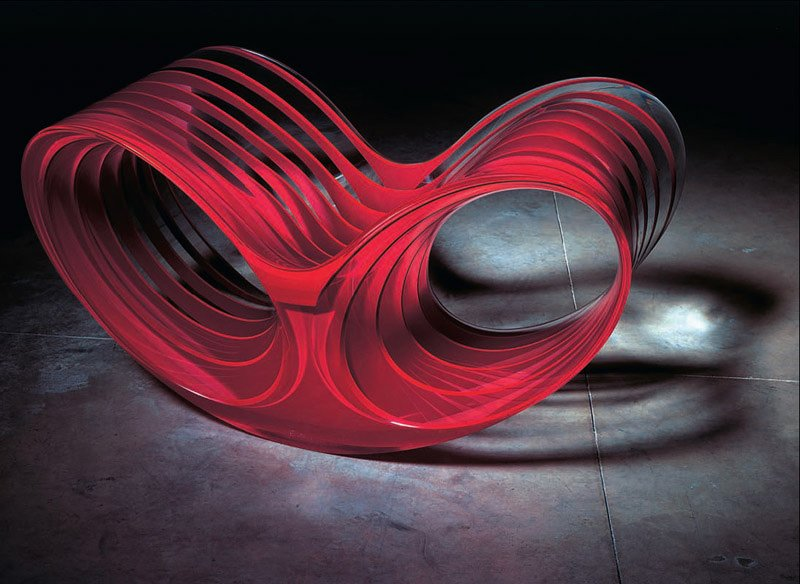 Oh-Void 2 (2006)  Photo by Erik and Petra Hesmerg and courtesy of Private Collection, USA, and the   Museum of Modern Art  Photo 24 of 28 in Ron Arad: No Discipline Preview