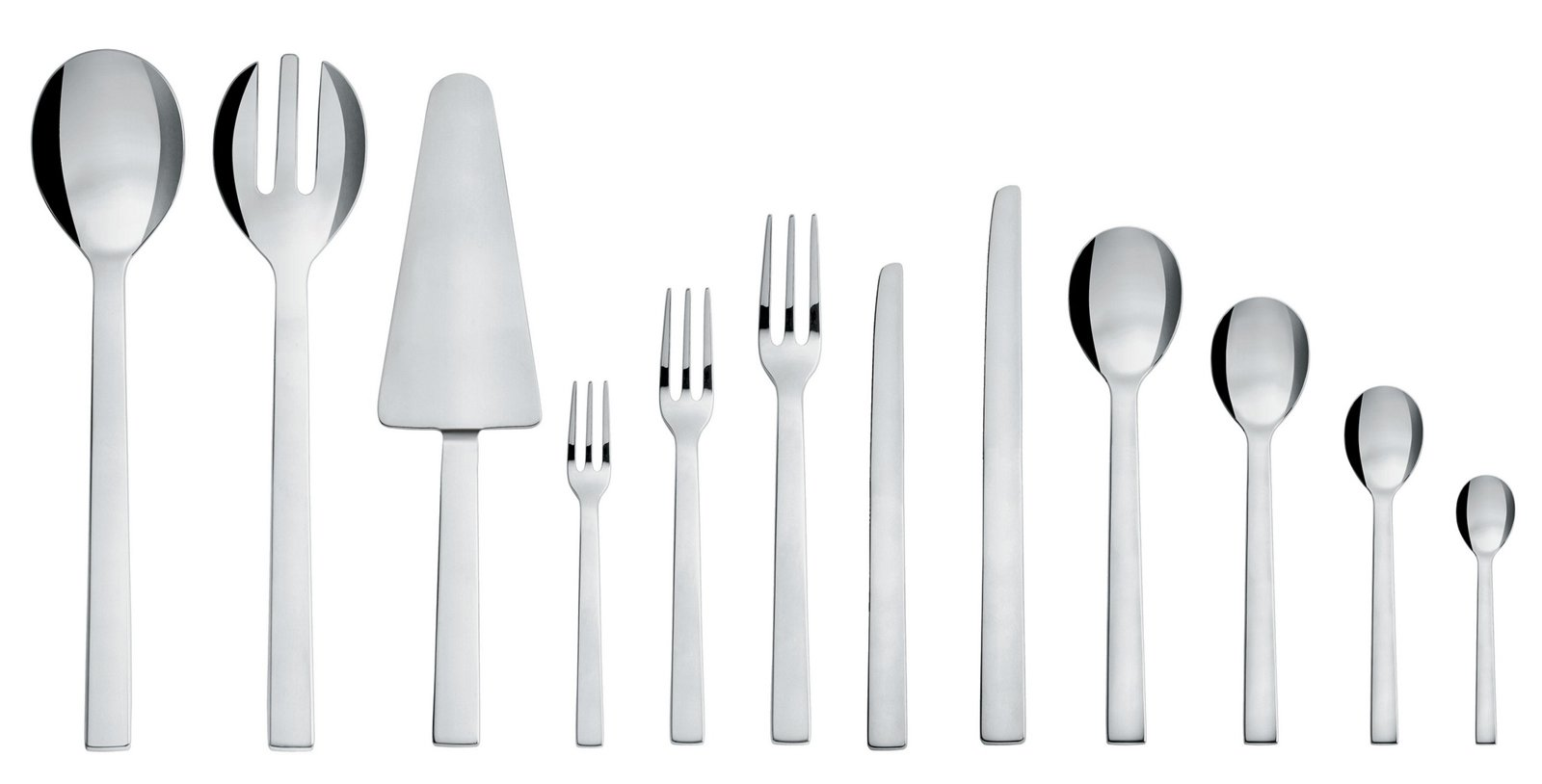 Santiago cutlery, by David Chipperfield for Alessi.  English architect and designer David Chipperfield's Santiago cutlery has clean lines that would complement any modern kitchen.  Photo 14 of 14 in Alessi's Fall/Winter Collection