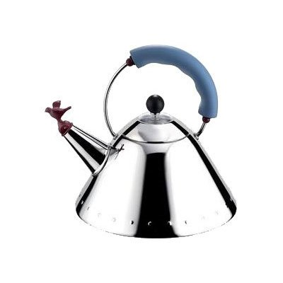 Tea Kettle designed by Michael Graves for Alessi in 1985.  Photo 3 of 14 in Alessi's Fall/Winter Collection